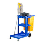Lavex Janitorial Cleaning Cart Janitor Cart With 3