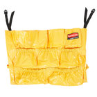 Rubbermaid FG264200YEL Yellow BRUTE Caddy Bag for 32 and 44 Gallon Trash Cans