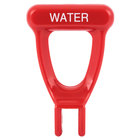 Bunn 07244.0000 Red Water Faucet Handle for HW10, HW5 & HW5-X Hot Water Dispensers