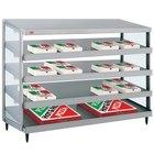 Hatco GRPWS-4818Q Glo-Ray 48 inch Quadruple Shelf Pizza Warmer - 120/208V, 3840W