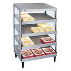 Hatco GRPWS-2424Q Glo-Ray 24 inch Quadruple Shelf Pizza Warmer - 120/240V, 2400W