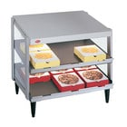 Hatco GRPWS-2418D Glo-Ray 24 inch Double Shelf Pizza Warmer - 960W