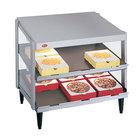 Hatco GRPWS-4824D Glo-Ray 48 inch Double Shelf Pizza Warmer - 120/208V, 2390W