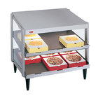 Hatco GRPWS-4824D Glo-Ray 48 inch Double Shelf Pizza Warmer - 120/240V, 2390W