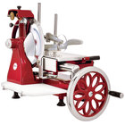 """Volano 14"""" Manual Meat Slicer with Flower Wheel"""
