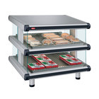Hatco GR2SDS-36D Glo-Ray Designer 36 inch Slanted Double Shelf Merchandiser