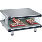 Hatco GR2SDS-60 Glo-Ray Designer 60 inch Slanted Single Shelf Merchandiser - 120V