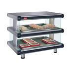 Hatco GR2SDH-60D Glo-Ray Designer 60 inch Horizontal Double Shelf Merchandiser