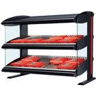 Hatco HXMS-48D LED 48 inch Slanted Double Shelf Merchandiser - 120/208V