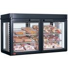 Hatco LFST-48-2X Flav-R-Savor Four Door Large Capacity Merchandising Cabinet - 120/240V, 2150W