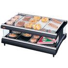 Hatco GR3SDH-27 Glo-Ray 27 inch Horizontal Single Shelf Heated Glass Merchandising Warmer - 1008W