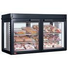 Hatco LFST-48-1X Flav-R-Savor Two Door Large Capacity Merchandising Cabinet - 120/240V, 2150W
