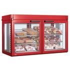 Hatco LFST-48-1X Flav-R-Savor Two Door Large Capacity Merchandising Cabinet - 2150W