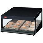 Hatco GRSDS-24 Black Glo-Ray 24 inch Slanted Single Shelf Merchandiser - 120V