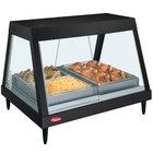 Hatco GRHD-3P Black Stainless Steel Glo-Ray 45 1/2 inch Full Service Single Shelf Merchandiser