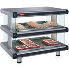 Hatco GR2SDH-30D Gray Granite Glo-Ray Designer 30 inch Horizontal Double Shelf Merchandiser - 120/208V
