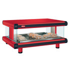 Hatco GR2SDH-42 Warm Red Glo-Ray Designer 42 inch Horizontal Single Shelf Merchandiser - 120V