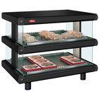 Hatco GR2SDH-30D Black Glo-Ray Designer 30 inch Horizontal Double Shelf Merchandiser - 120/208V