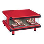 Hatco GR2SDS-30 Warm Red Glo-Ray Designer 30 inch Slanted Single Shelf Merchandiser - 120V