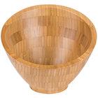 American Metalcraft BAMSL82 22 oz. Bamboo Angled Bowl