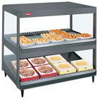 Hatco GRSDS/H-41DHW Gray Granite Glo-Ray 41 inch High Wattage Horizontal / Slanted Double Shelf Merchandiser - 120/240V
