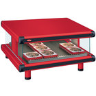 Hatco GR2SDS-48 Red Glo-Ray Designer 48 inch Slanted Single Shelf Merchandiser - 120V