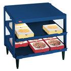 Hatco GRPWS-3624D Navy Blue Glo-Ray 36 inch Double Shelf Pizza Warmer - 1800W