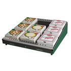 Hatco GRPWS-2424 Hunter Green Glo-Ray 24 inch Single Shelf Pizza Warmer - 480W