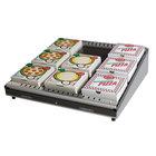 Hatco GRPWS-3624 Granite White Glo-Ray 36 inch Single Shelf Pizza Warmer - 720W
