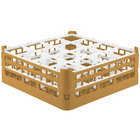 Vollrath 52768 Signature Full-Size Gold 16-Compartment 6 1/4 inch Tall Plus Glass Rack