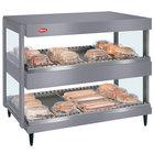 Hatco GRSDH-30D Gray Granite Glo-Ray 30 inch Horizontal Double Shelf Merchandiser - 120V