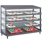 Hatco GRPWS-4824Q Granite Gray Glo-Ray 48 inch Quadruple Shelf Pizza Warmer - 4780W
