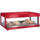 Hatco GRSDH-30 Warm Red Glo-Ray 30 inch Horizontal Single Shelf Merchandiser - 120V