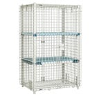 Metro MQSEC53E 27 inch x 39 inch x 66 inch MetroMax Q Stationary Security Unit