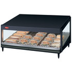 Hatco GRSDS-30 Black Glo-Ray 30 inch Slanted Single Shelf Merchandiser - 120V