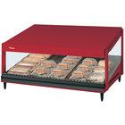 Hatco GRSDS-36 Warm Red Glo-Ray 36 inch Slanted Single Shelf Merchandiser - 120V