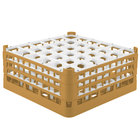 Vollrath 52781 Signature Full-Size Gold 36-Compartment 7 11/16 inch X-Tall Plus Glass Rack