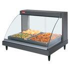 Hatco GRCDH-2P Gray 33 inch Glo-Ray Full Service Single Shelf Merchandiser with Humidity Controls - 1030W