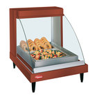 Hatco GRCDH-1P Copper 20 inch Glo-Ray Full Service Single Shelf Merchandiser with Humidity Controls - 660W