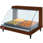 Hatco GRCDH-2P Copper 33 inch Glo-Ray Full Service Single Shelf Merchandiser with Humidity Controls - 1030W