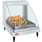 Hatco GRCDH-1P White 20 inch Glo-Ray Full Service Single Shelf Merchandiser with Humidity Controls - 660W