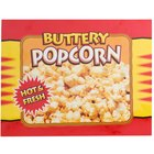 APW Wyott 21770300 Replacement Buttery Popcorn Transparency for LW-4PKG Heated Countertop Warmer