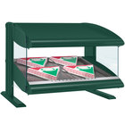 Hatco HXMS-24 Hunter Green LED 24 inch Slanted Single Shelf Merchandiser - 120V