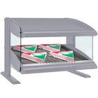 Hatco HXMS-24 Gray Granite LED 24 inch Slanted Single Shelf Merchandiser - 120V