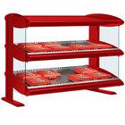 Hatco HXMH-60 Warm Red LED 60 inch Horizontal Single Shelf Merchandiser - 120V