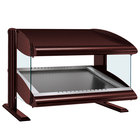 Hatco HZMS-42 Antique Copper 42 inch Slanted Single Shelf Heated Zone Merchandiser - 120V
