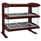 Hatco HZMH-60D Antique Copper 60 inch Horizontal Double Shelf Heated Zone Merchandiser - 120/208V