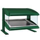 Hatco HZMS-30 Hunter Green 30 inch Slanted Single Shelf Heated Zone Merchandiser - 120V