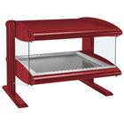 Hatco HZMH-42 Warm Red 42 inch Horizontal Single Shelf Heated Zone Merchandiser - 120V
