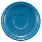 CAC TG-2-PCK Tango 6 inch Peacock Round Saucer - 36/Case